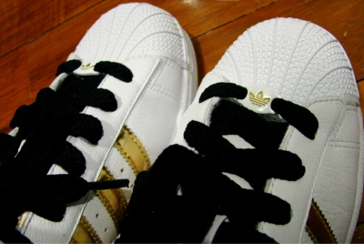 Adidas Superstar II, upclose.