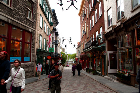 Quebec City - Lower Area.