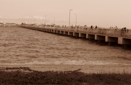Bedok jetty.