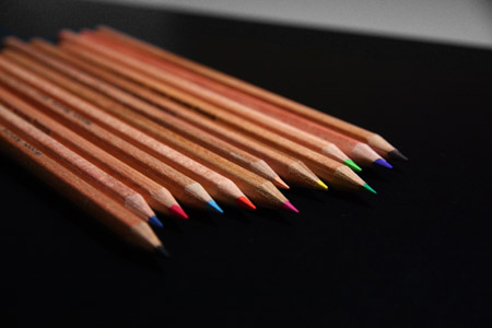 Purdy colour pencils
