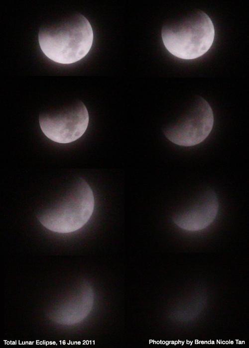 Total lunar eclipse, 16th June 2011